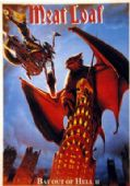 Meat Loaf - 'Bat Out of Hell II' Postcard